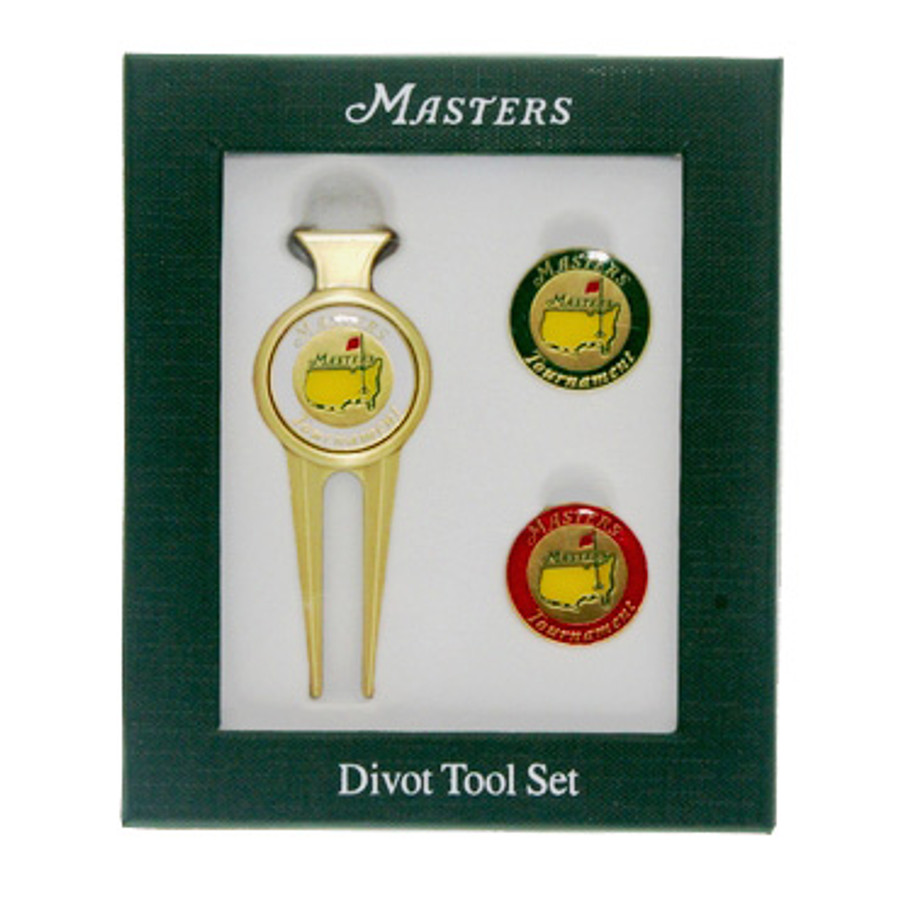 2016 Masters Divot Tool Two Ball Markers