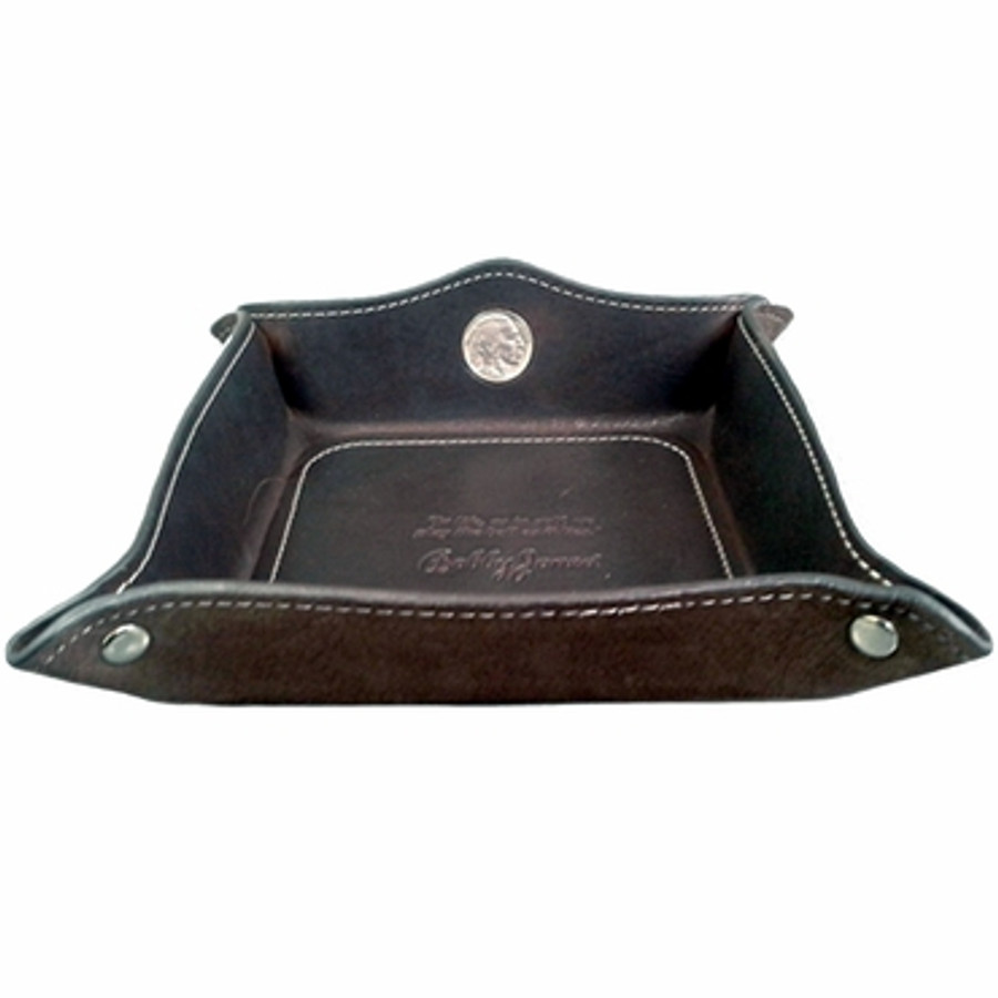 Bobby Jones Leather Nickel Coin Tray