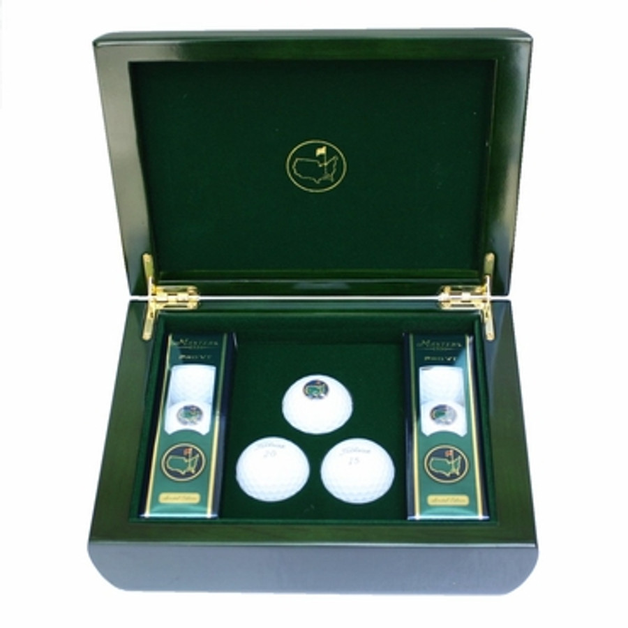 Masters Commemorative Box & Golf Balls