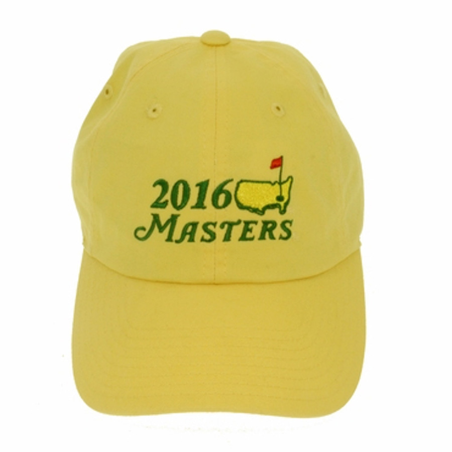 2016 Masters Yellow Caddy Hat
