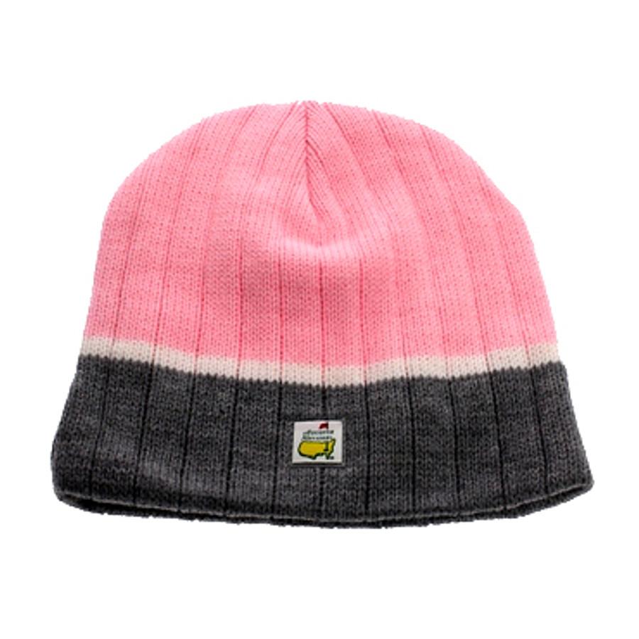 Masters Beanie Pink/White/Black