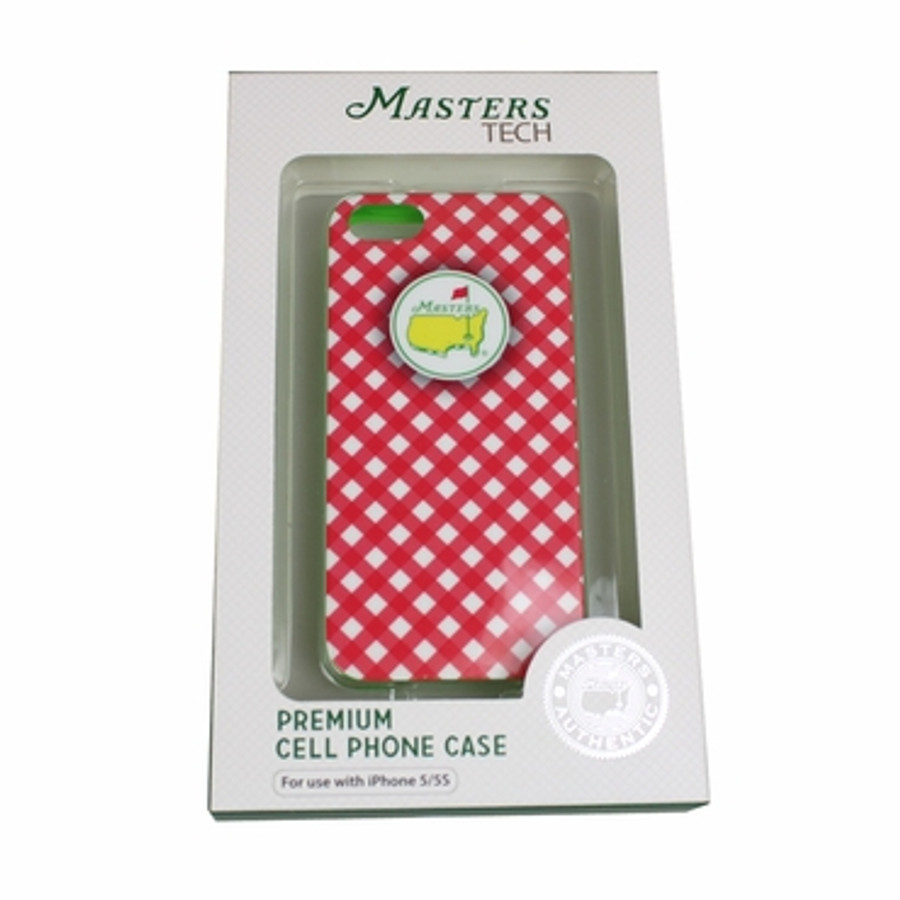 Masters iPhone 5/5s Case Checkered - Pink