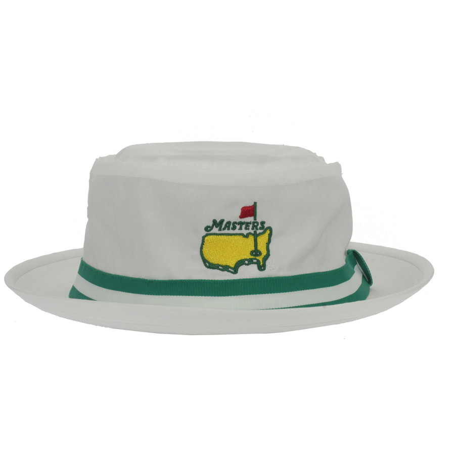 Masters White Bucket Hat