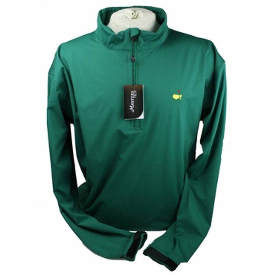 Masters Tech Long Sleeve Windshirt - Green