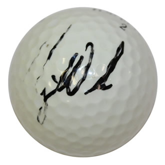 Tiger Woods Signed Ball