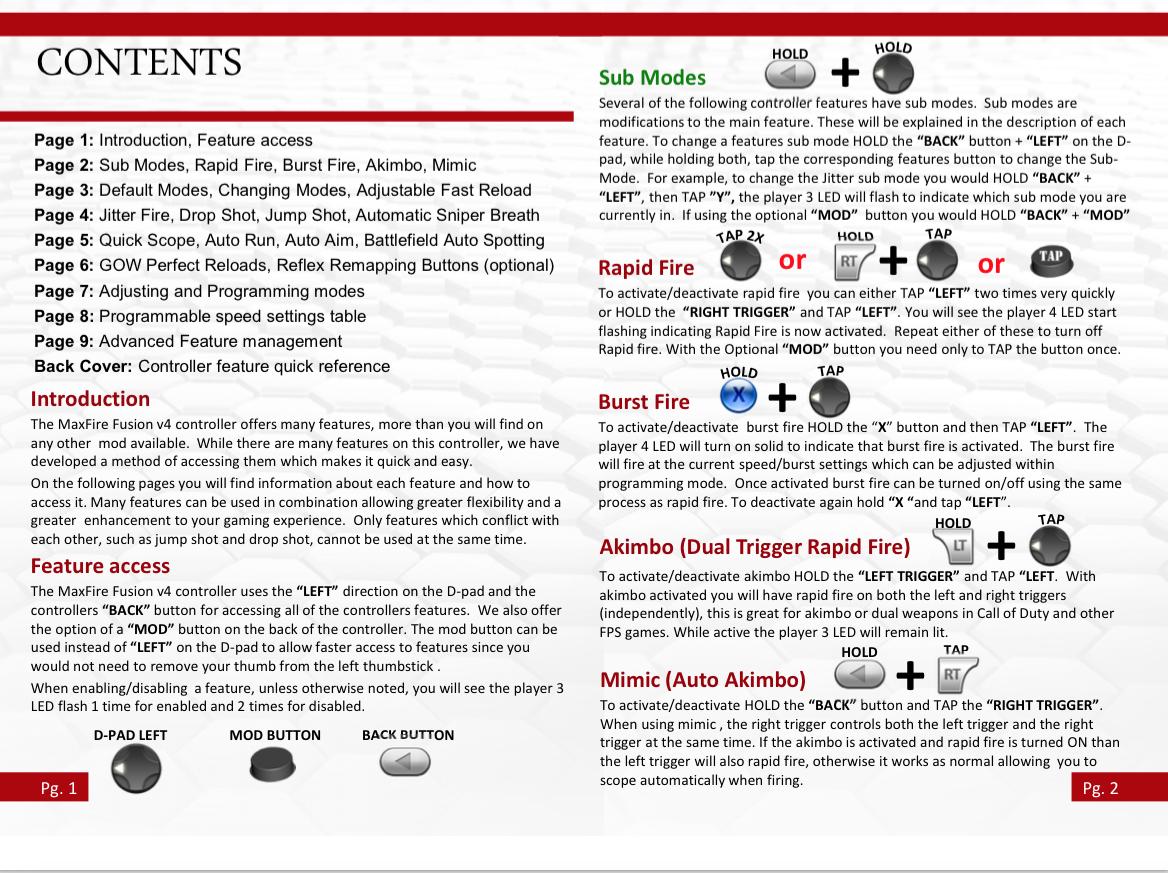xbox 360 rapid fire instructions rh customcontrollerzz com xbox 360 user manual pdf download xbox 360 instructional manual