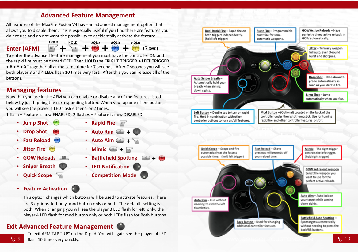 Xbox 360 Rapid Fire Instructions