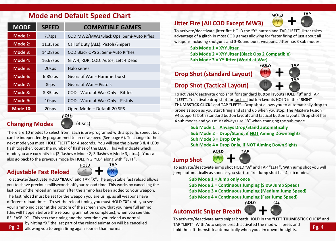 xbox 360 rapid fire instructions rh customcontrollerzz com xbox 360 user manual pdf xbox 360 instruction manual free download