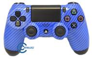 Blue Carbon Fiber PS4 Controller | Ps4