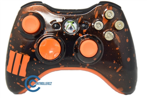 Black Ops 3 Themed Xbox Controller | Xbox 360