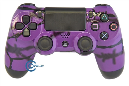 Purple Barbed Wire PS4 Controller | Ps4