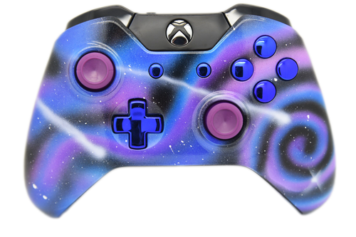 Galaxy Themed Xbox One Controller   Xbox One