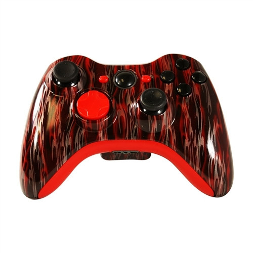 Red Flame Controller | Xbox 360