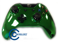 Green Chrome Xbox One Controller   Xbox One