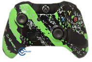 Green Splatter Xbox One Controller | Xbox One