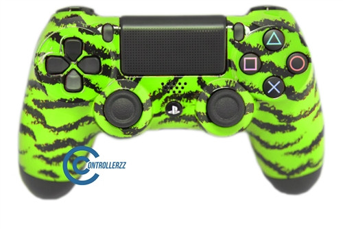 Green Tiger PS4 Controller | Ps4