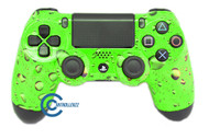 Green Water Drop PS4 Controller | Ps4