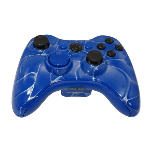 Blue Swirl Controller | Xbox 360