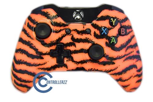 Orange Tiger Xbox One Controller | Xbox One