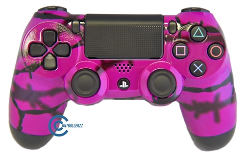 Pink Barbed Wire PS4 Controller | Ps4