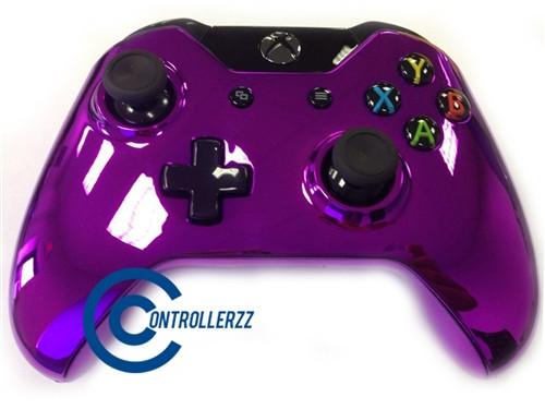 Purple Chrome Xbox One Controller   Xbox One