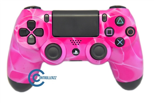 Pink Swirl PS4 Controller   Ps4