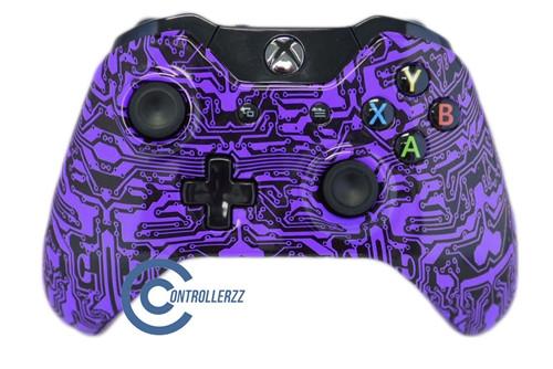 Purple Circuit Board Xbox One Controller | Xbox One