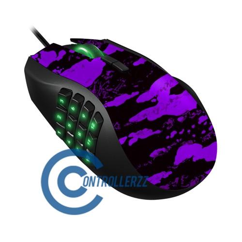 Purple Splatter Razer Naga   Razer Naga