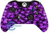 Purple Skull Xbox One Controller   Xbox One