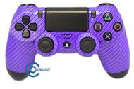 Purple Carbon Fiber PS4 Controller | Ps4