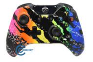 Rainbow Splatter Xbox One Controller | Xbox One