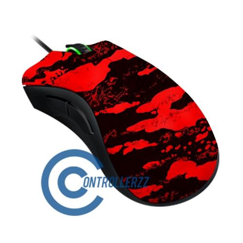 Red Splatter Razer DeathAdder   Razer DeathAdder
