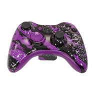 Purple Splatter Controller | Xbox 360