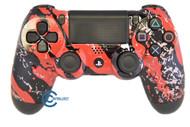 Red Splatter PS4 Controller | Ps4