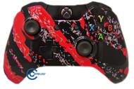 Red Splatter Xbox One Controller | Xbox One