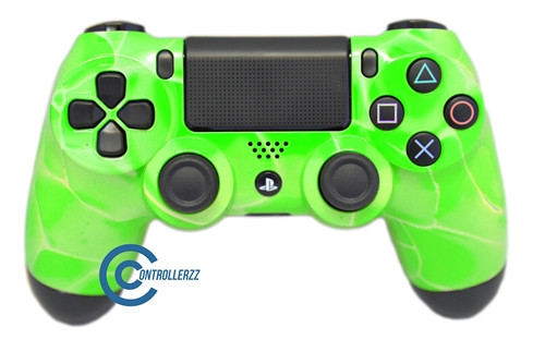 Green Swirl PS4 Controller | Ps4
