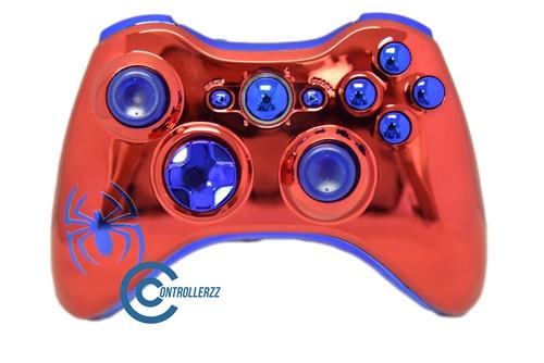 Spider Man Themed Xbox 360 Controller   Xbox 360