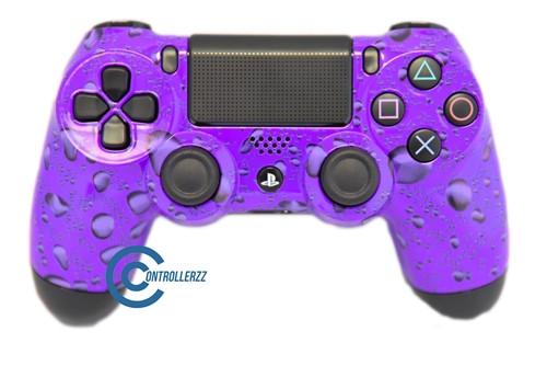 Purple Water Drop PS4 Controller | PS4