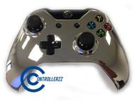 Silver Chrome Xbox One Controller   Xbox One