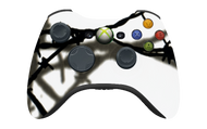 White Barbed Wire Controller | Xbox 360