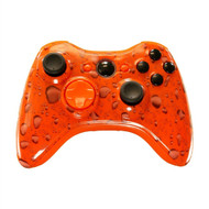 Orange Water Dropped Controller | Xbox 360