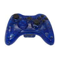 Clear Blue Water Dropped Controller | Xbox 360