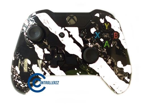 White Splatter Xbox One Controller   Xbox One