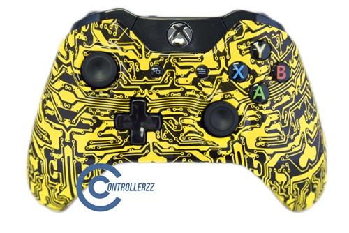 Yellow Circuit Board Xbox One Controller | Xbox One