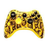 Yellow Zombie Controller   XBOX 360