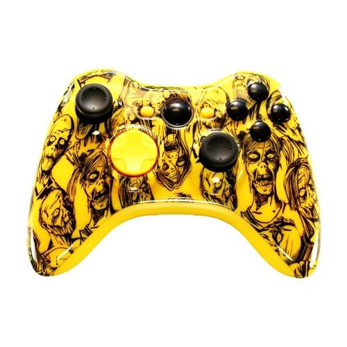 Yellow Zombie Controller | XBOX 360