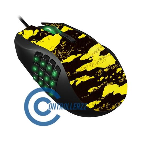 Yellow Splatter Razer Naga   Razer Naga