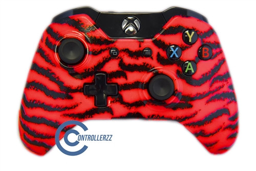 Red Tiger Xbox One Controller | Xbox One