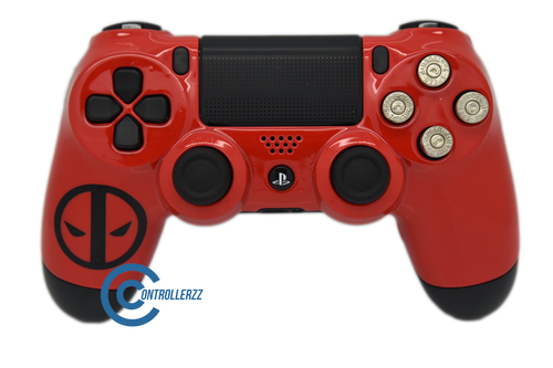 Deadpool Themed PS4 Controller | PS4