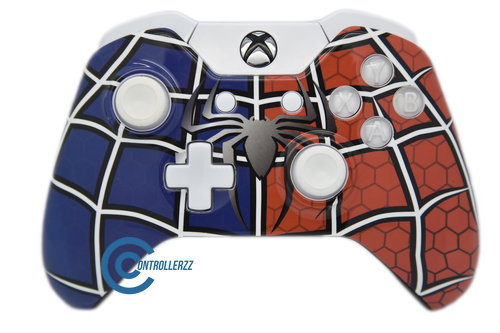 Spiderman V2 Xbox One Controller | Xbox One